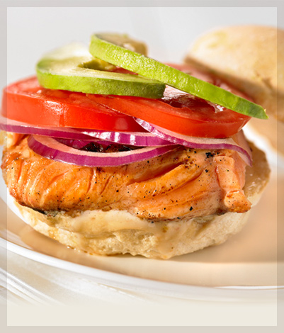 Something Special Deli Foods Ltd. - Recipes - Grilled Salmon Burgers