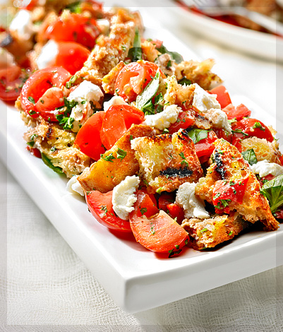 Chili Roasted Pepper Salad Recipe — Dishmaps